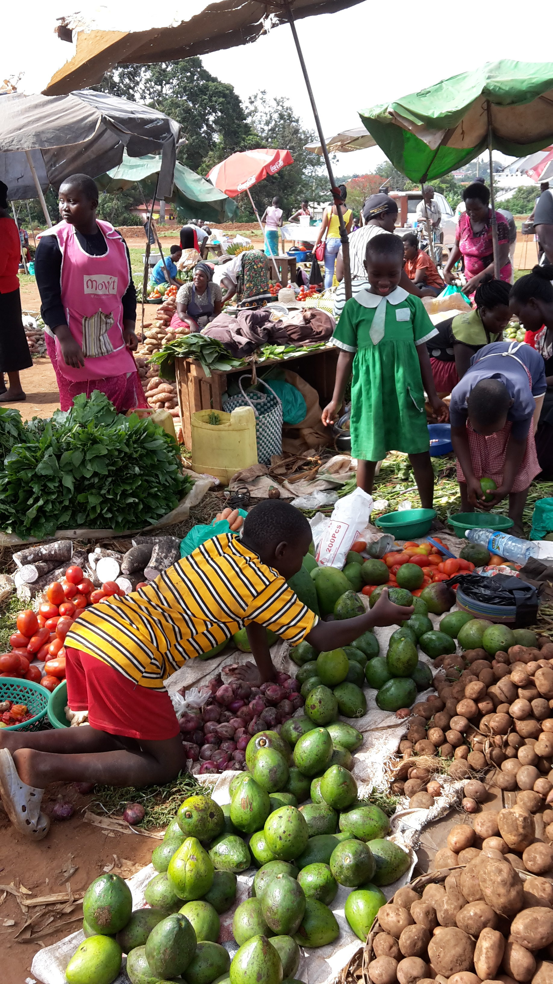 Markt in Entebbe